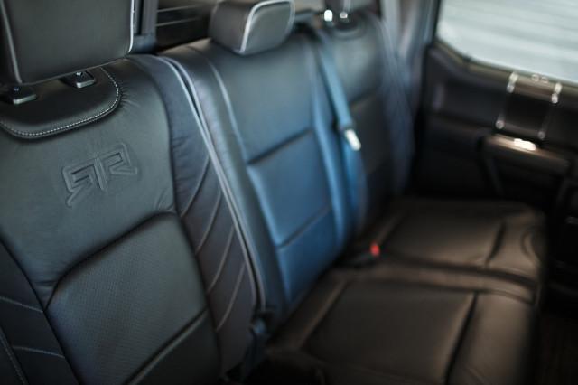 2019 Ford F-150 RTR seats