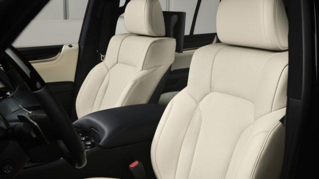 2019 Lexus LX Inspiration Series cabin