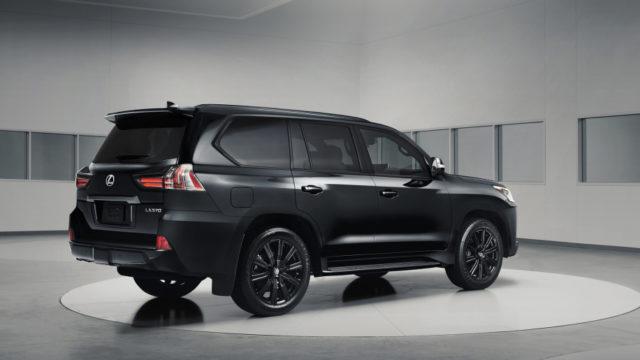 2019 Lexus LX Inspiration Series rear