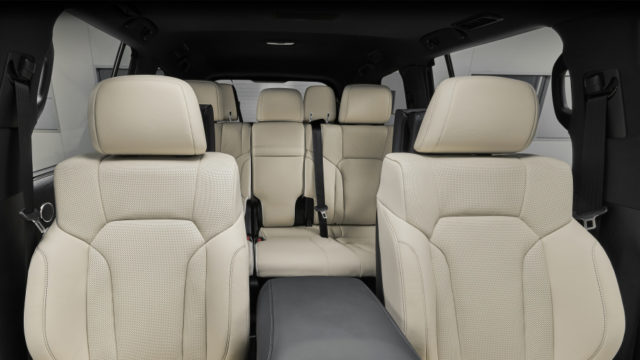 2019 Lexus LX Inspiration Series seats