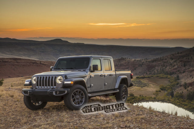 2020 Jeep Gladiator official images