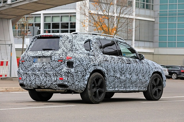 2020 Mercedes-Maybach GLS spy rear