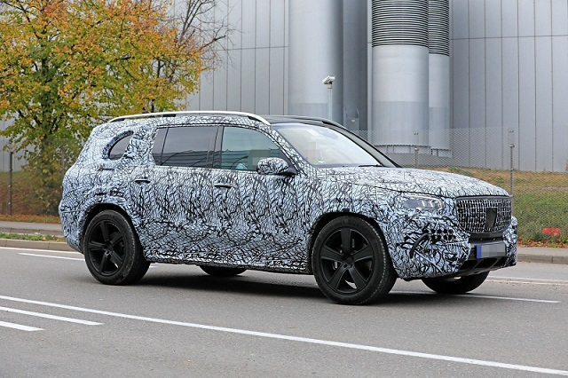 2020 Mercedes-Maybach GLS spy side