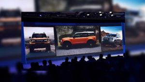 Ford Baby Bronco leaked images