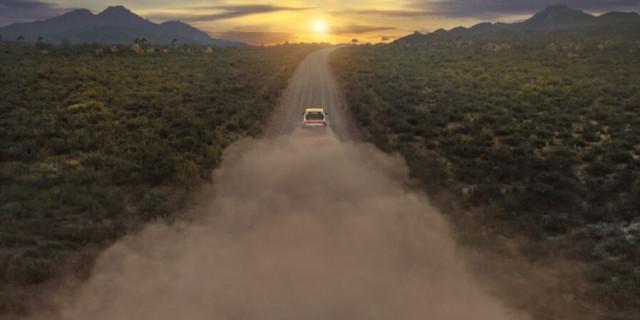 Rivian R1T electric pickup truck teaser