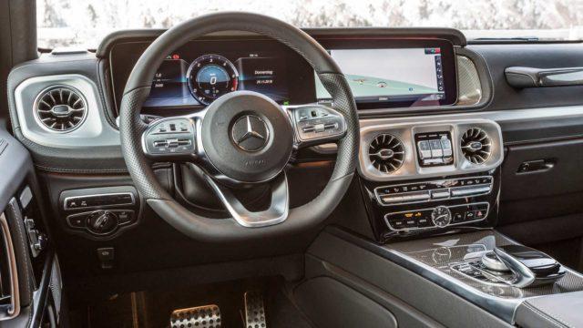 2019 Mercedes G 350 d cabin