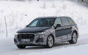 2020 Audi SQ7 facelift spy