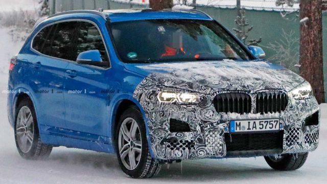 2020 BMW X1 spy shots