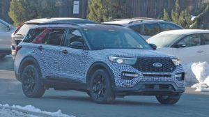 2020 Ford Explorer ST spy