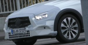 2020 Mercedes-Benz E-Class All-Terrain front end spy