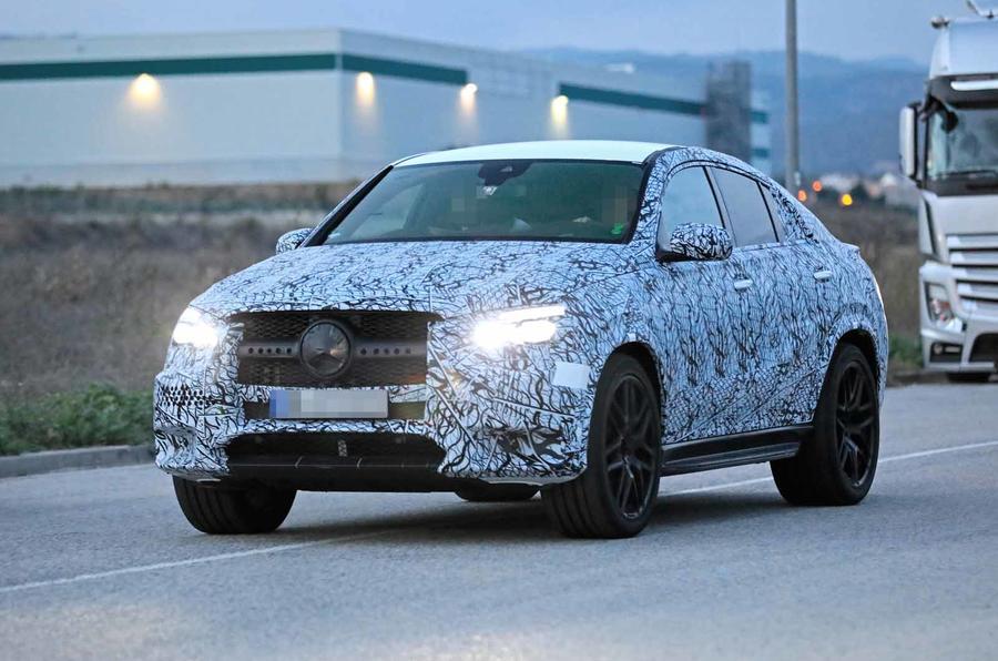 2021 Mercedes-AMG GLE 53 Coupe spy
