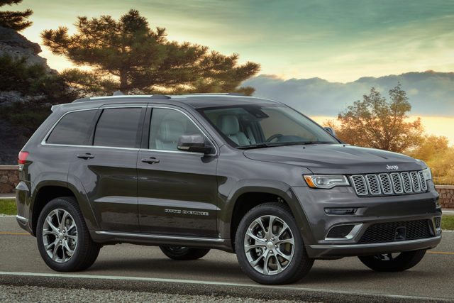 2022 Jeep Grand Cherokee three-row