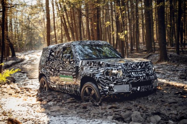 U.S.-specs 2020 Land Rover Defender