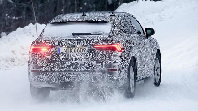 2020 Audi Q4 spy rear