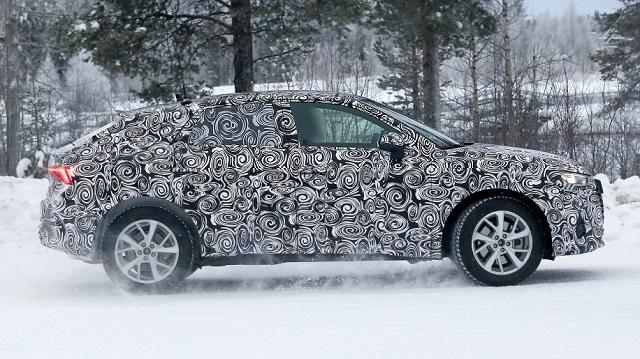 2020 Audi Q4 spy side