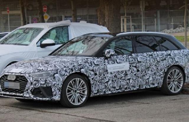 2020 Audi S4 Avant spy