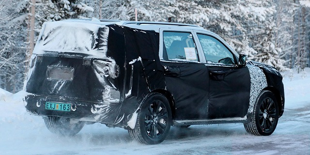 2020 Kia Mohave Spotted The Suv Gets Telluride Styling