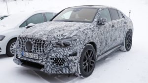 2020 Mercedes-AMG GLE 63 Coupe spy