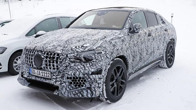 2020 Mercedes-AMG GLE 63 Coupe spy