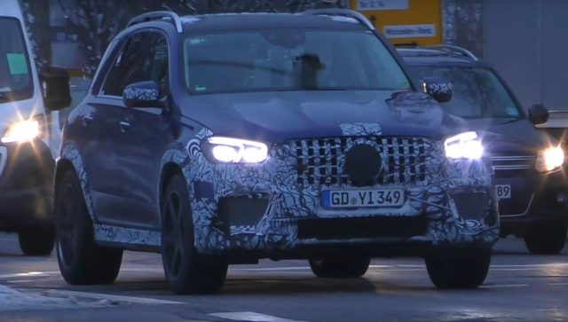 2020 Mercedes-AMG GLE 63 S front