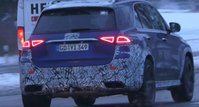 2020 Mercedes-AMG GLE 63 S rear