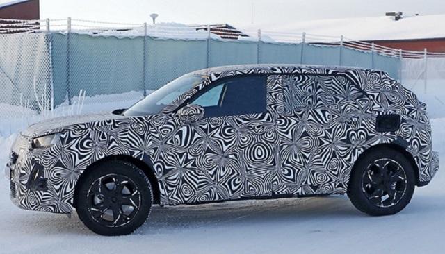 2020 Peugeot 3008 side