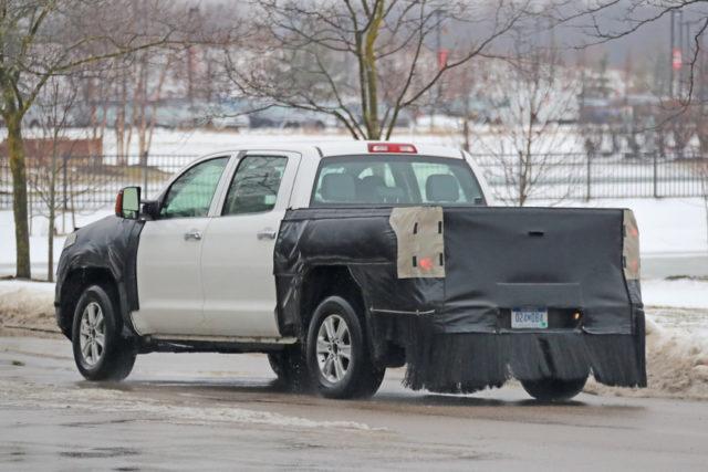 2020 Toyota Tundra spy rear