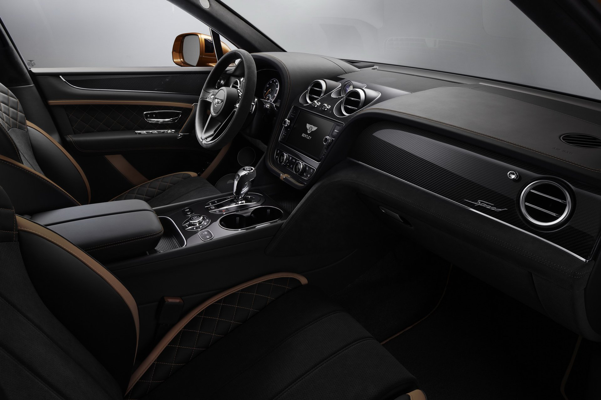 2020 Bentley Bentayga Speed cabin