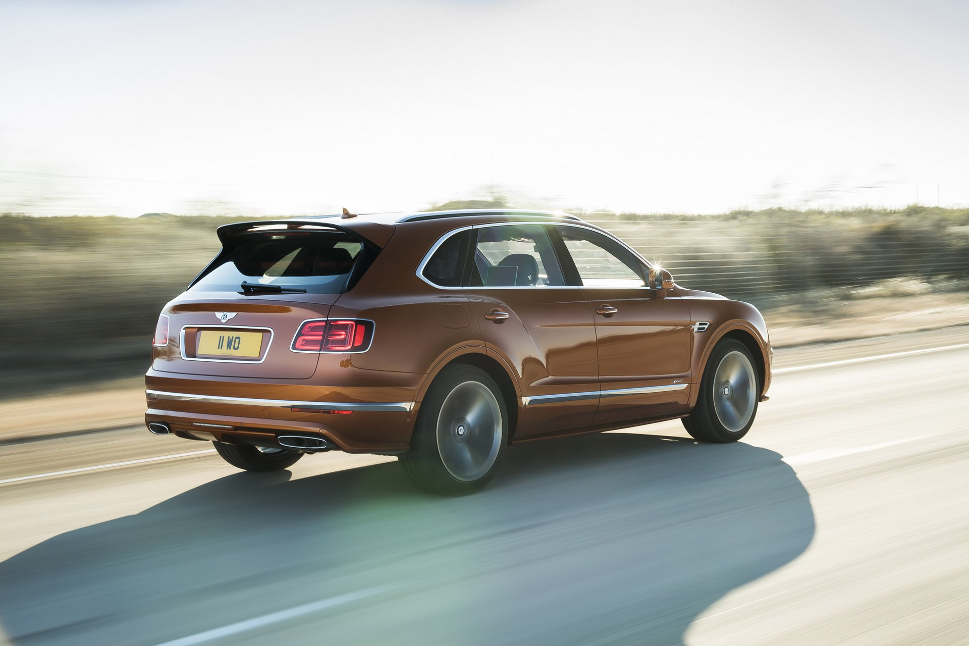 2020 Bentley Bentayga Speed rear view