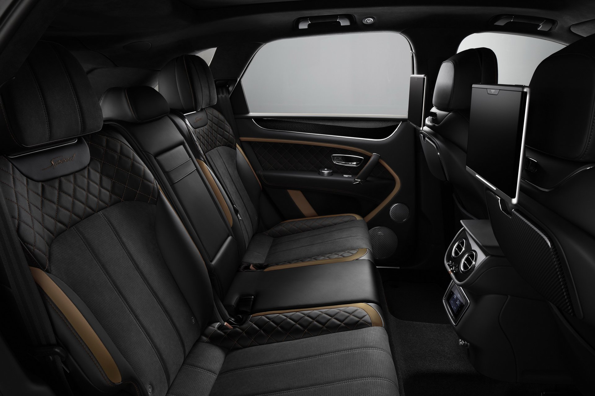 2020 Bentley Bentayga Speed seats