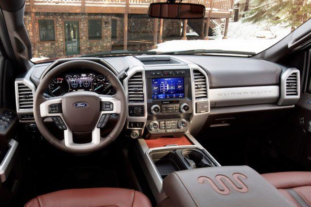 2020 Ford F-250 Super Duty dashboard
