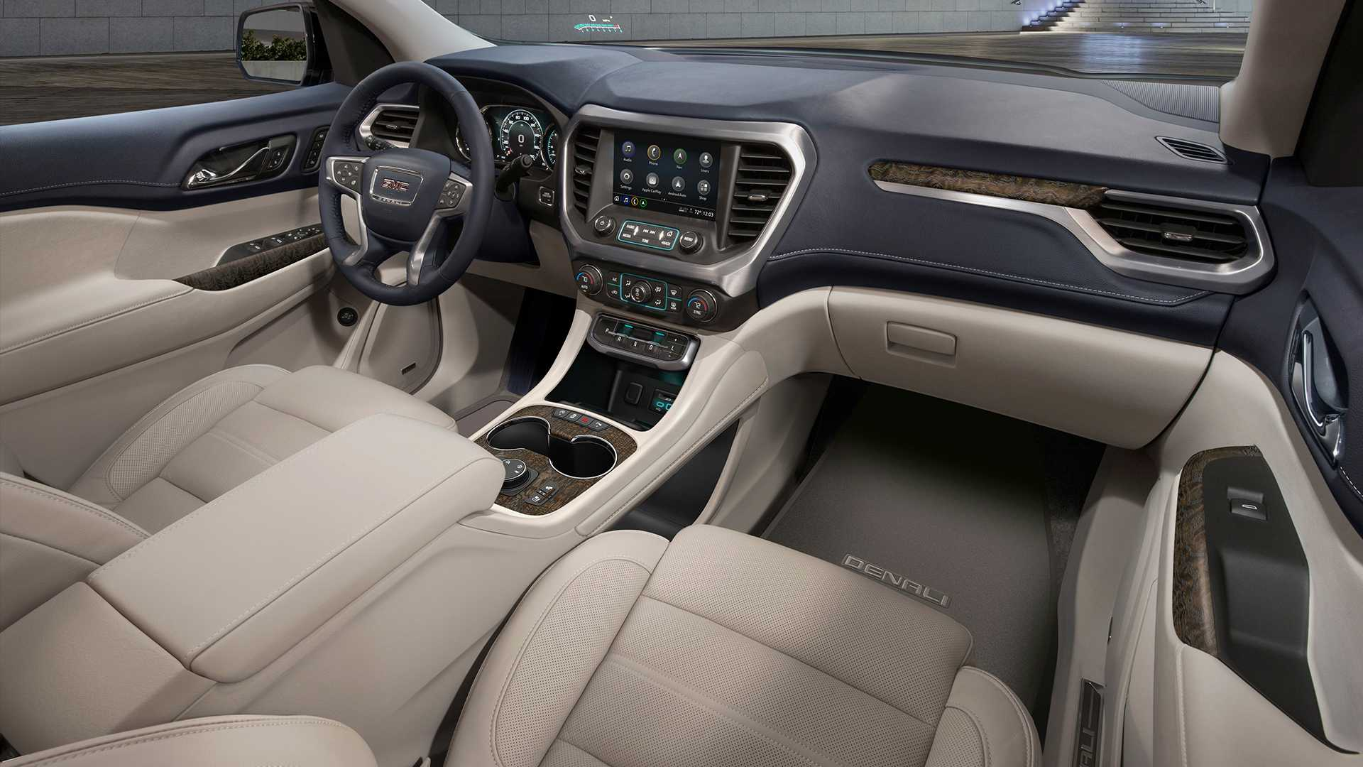 2020 GMC Acadia interior refresh