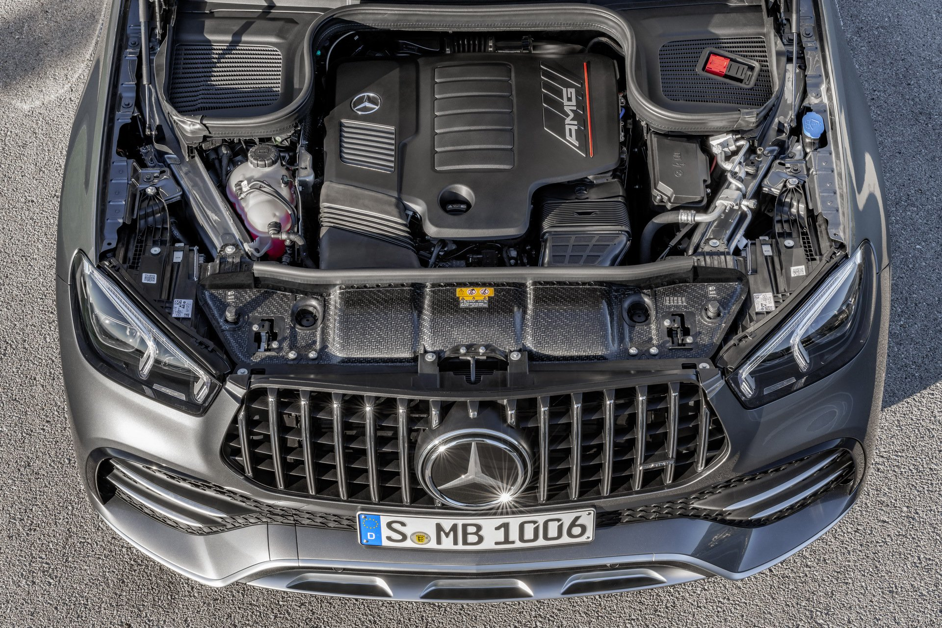 2020 Mercedes-AMG GLE53 4Matic+ powertrain