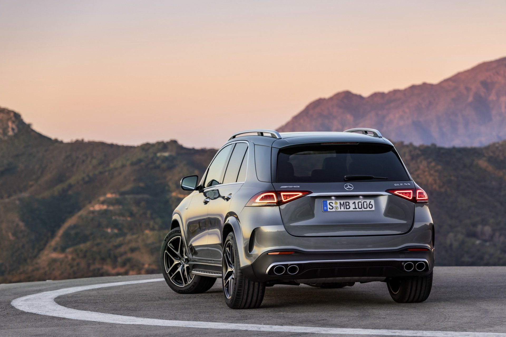2020 Mercedes-AMG GLE53 4Matic+ rear