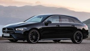 2020 Mercedes-Benz CLA Shooting Brake rendered