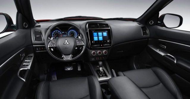 2020 Mitsubishi ASX cabin