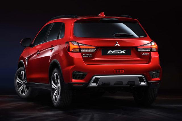 2020 Mitsubishi ASX rear view