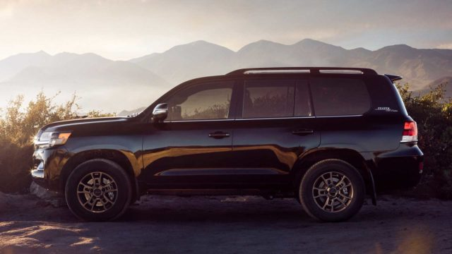 2020 Toyota Land Cruiser Heritage Edition side