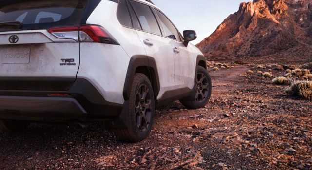 2020 Toyota RAV4 TRD Off-Road rear
