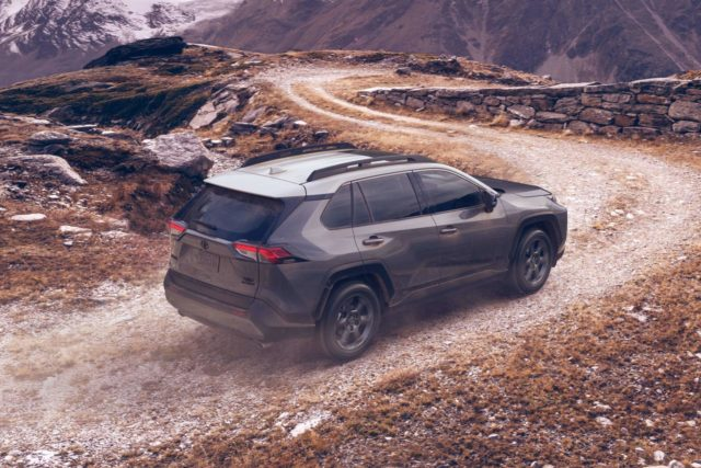 2020 Toyota RAV4 TRD Off-Road rear view