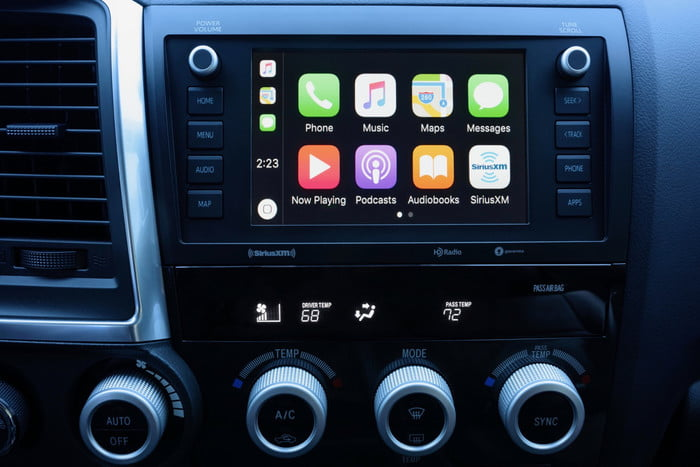 2020 Toyota Sequoia TRD Pro infotainment