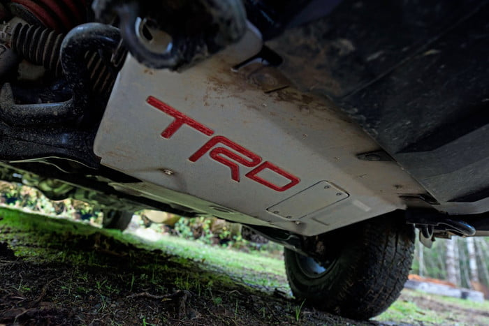 2020 Toyota Sequoia TRD Pro underneath