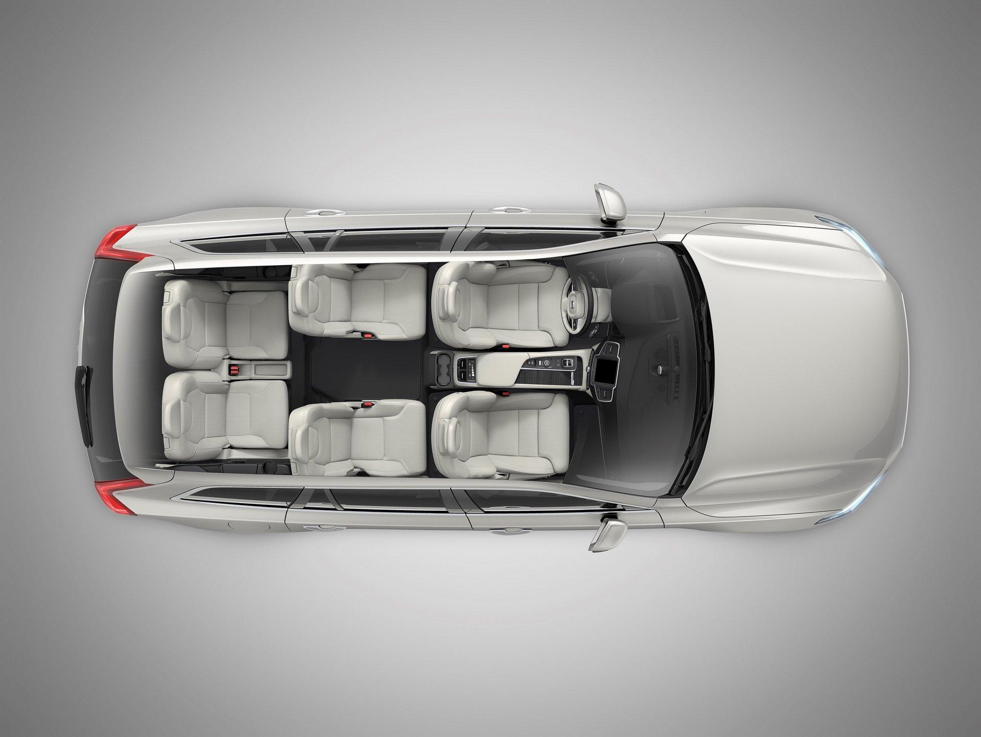 2020 Volvo XC90 seats