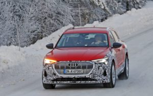 2021 Audi e-tron Allroad spy