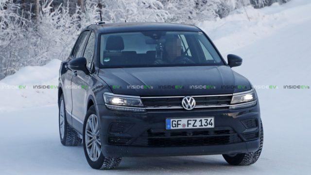 2021 Volkswagen ID Crozz spy