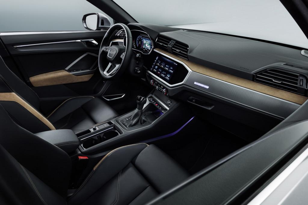 2020 Audi Q3 Sportback cabin