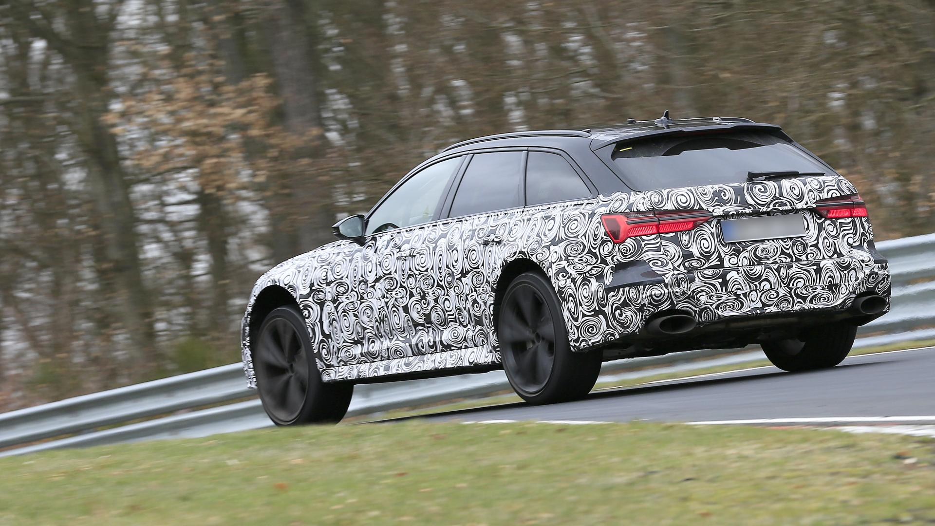 2020 Audi RS 6 Avant spy rear
