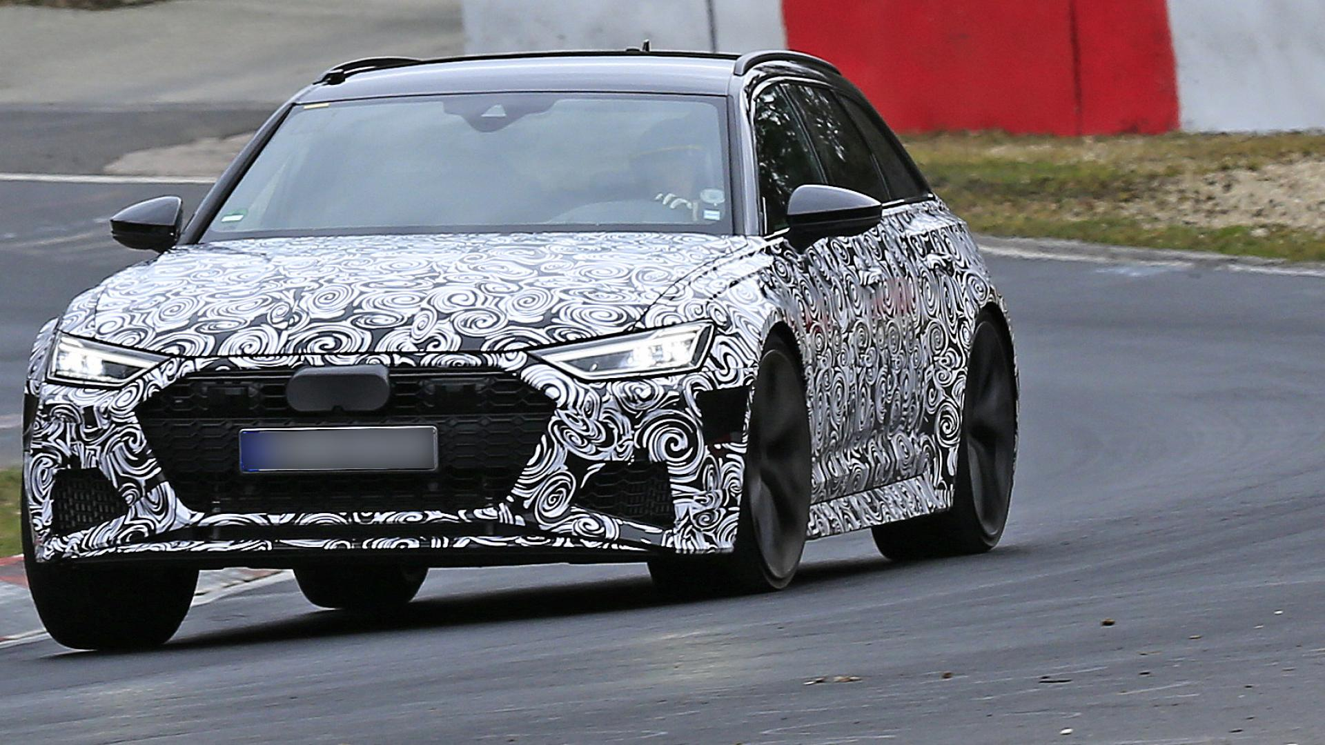 2020 Audi RS 6 Avant spy shots