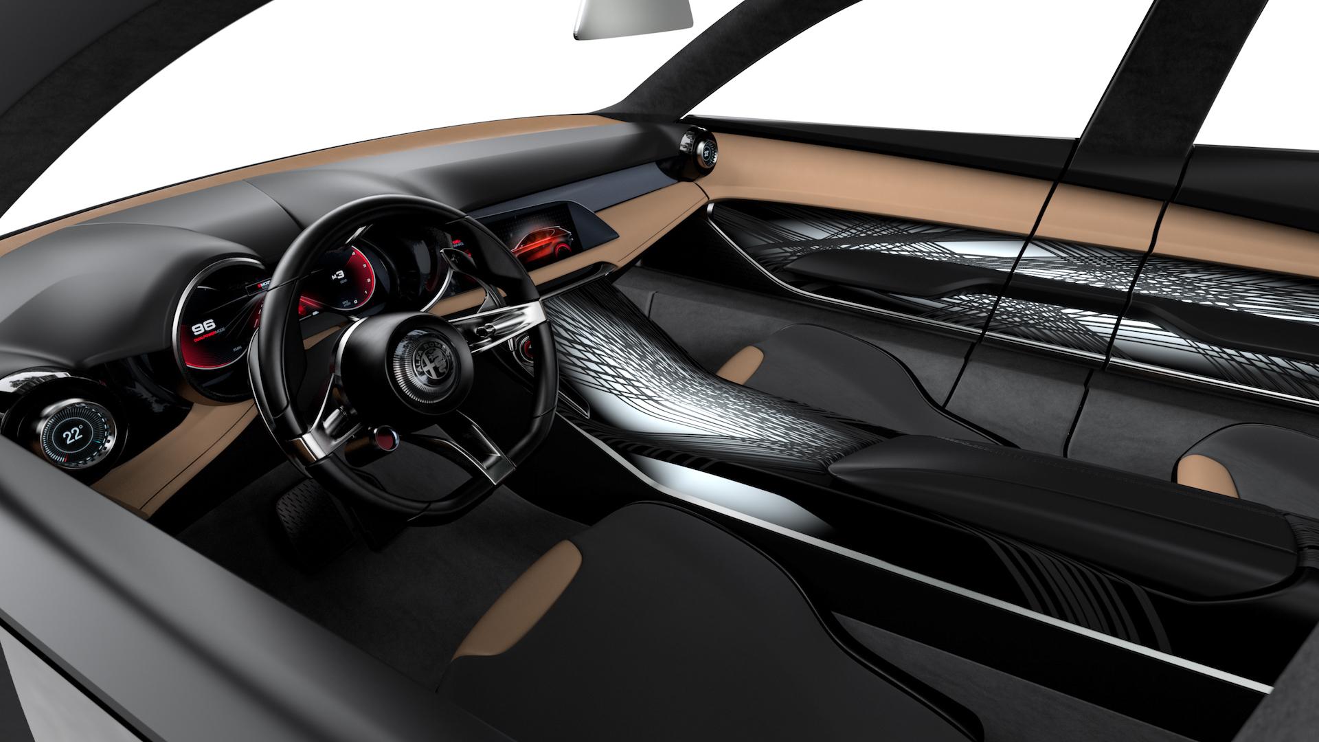 2021 Alfa Romeo Tonale Compact SUV cabin