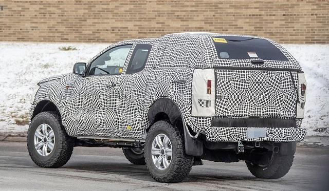 2021 Ford Bronco spy shots rear